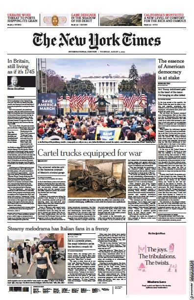Read full digital edition of International Herald Tribune newspaper from International