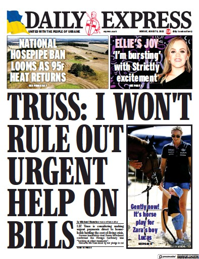Read full digital edition of Daily Express newspaper from UK
