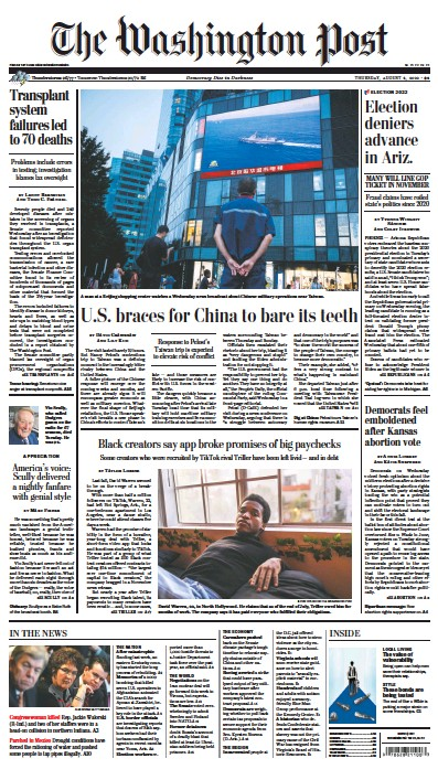 Read full digital edition of Washington Post newspaper from USA