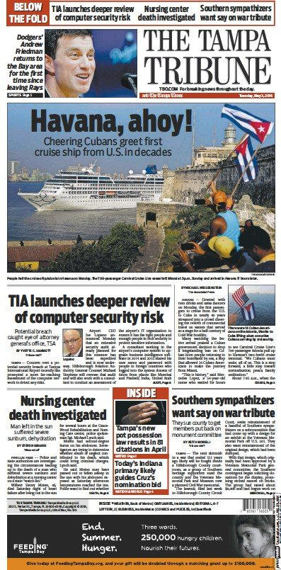 Read full digital edition of Tampa Tribune newspaper from USA
