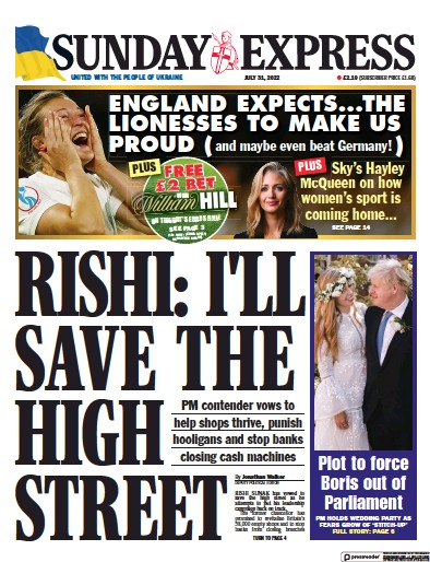 Read full digital edition of Daily Express Sunday newspaper from UK