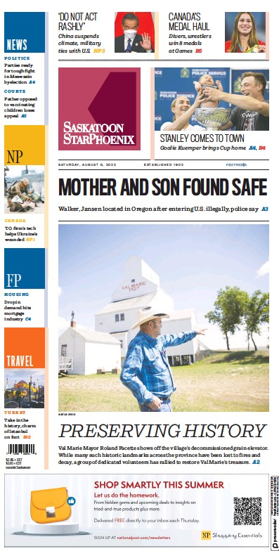 Read full digital edition of The StarPhoenix Saskatoon newspaper from Canada