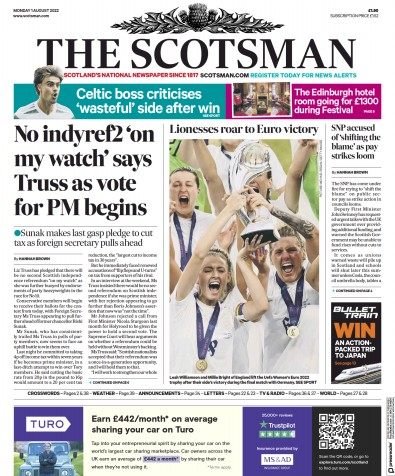 Read full digital edition of The Scotsman newspaper from UK