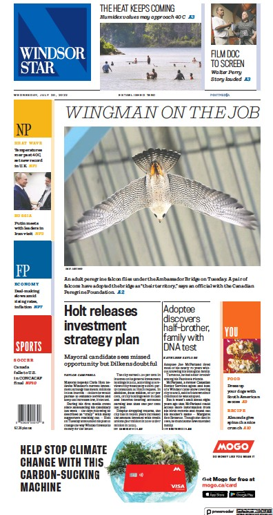Read full digital edition of Windsor Star newspaper from Canada