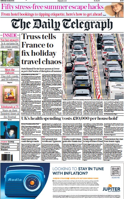 Read full digital edition of The Daily Telegraph newspaper from UK