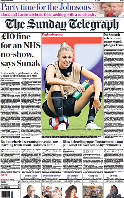 Read full digital edition of The Sunday Telegraph newspaper from UK