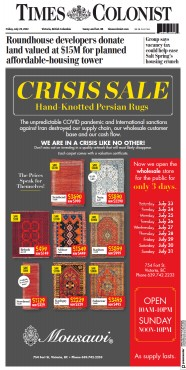 Read full digital edition of Times-Colonist  Victoria newspaper from Canada
