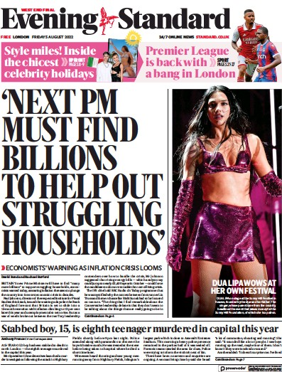 Read full digital edition of London Evening Standard newspaper from UK