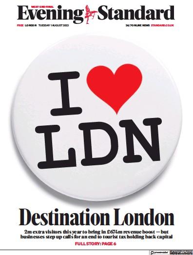 Read full digital edition of London Evening Standard newspaper from UK