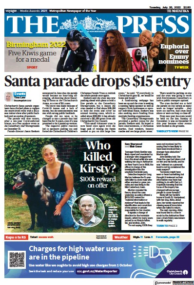 Read full digital edition of The Press (New Zealand) newspaper from New Zealand