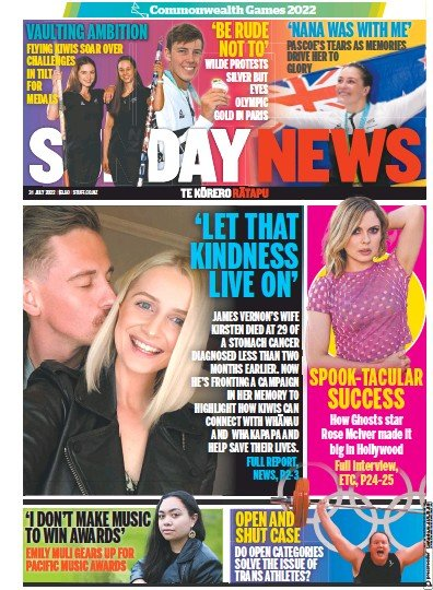 Read full digital edition of Sunday News newspaper from New Zealand