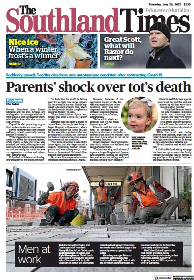Read full digital edition of The Southland Times newspaper from New Zealand