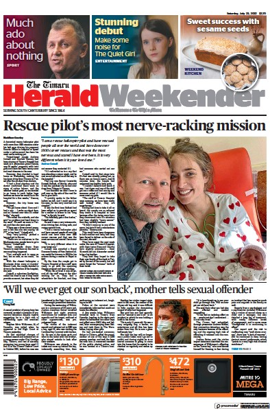 Read full digital edition of The Timaru Herald newspaper from New Zealand