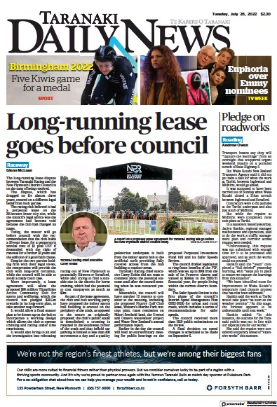 Read full digital edition of Taranaki Daily News newspaper from New Zealand