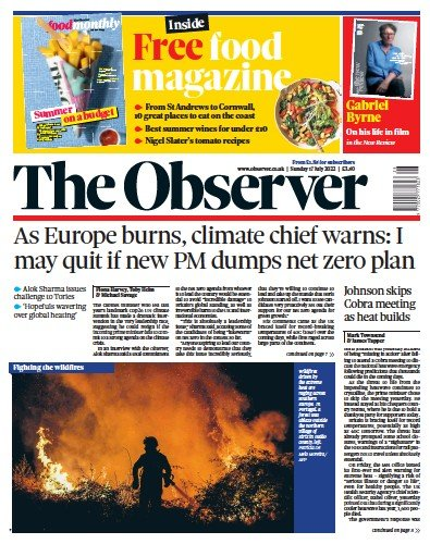 Read full digital edition of The Observer newspaper from UK