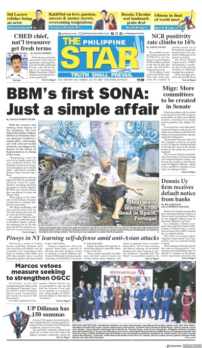 Read full digital edition of The Philippine Star newspaper from Philippines