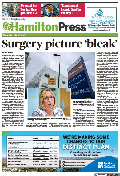 Read full digital edition of Hamilton Press newspaper from New Zealand