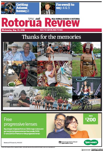 Read full digital edition of Rotorua Review newspaper from New Zealand
