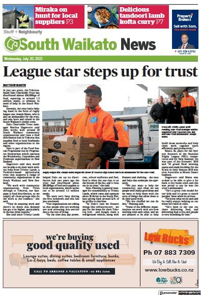 Read full digital edition of South Waikato News newspaper from New Zealand