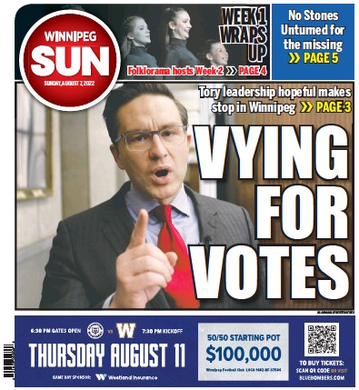Read full digital edition of Winnipeg Sun newspaper from Canada