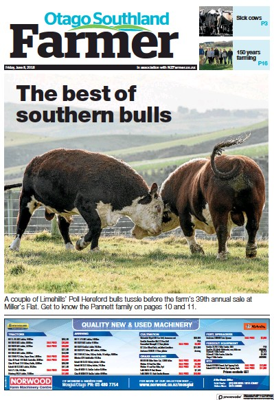 Read full digital edition of Otago Southland Farmer newspaper from New Zealand