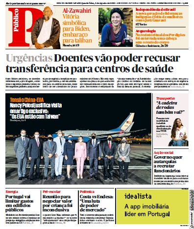 Read full digital edition of Publico Porto Edition newspaper from Portugal