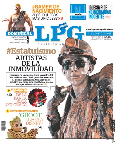 Read full digital edition of La Prensa Grafica newspaper from El Salvador