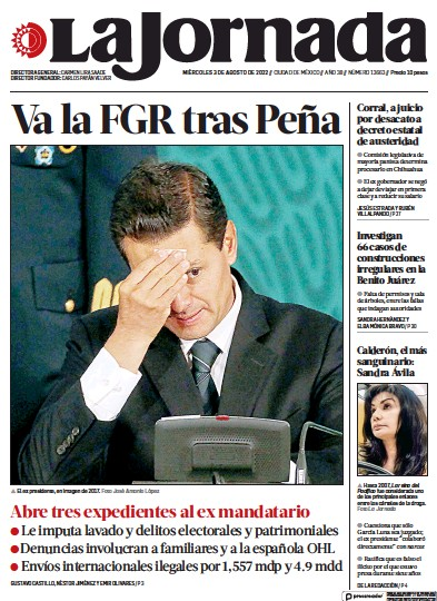 Read full digital edition of La Jornada newspaper from Mexico