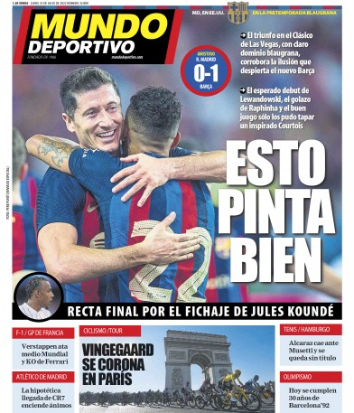 Read full digital edition of Mundo Deportivo newspaper from Spain