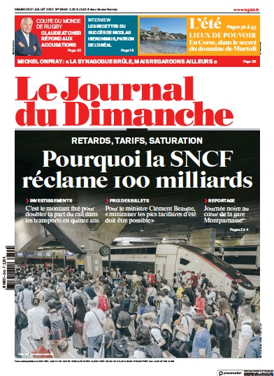 Read full digital edition of Journal Du Dimanche newspaper from France