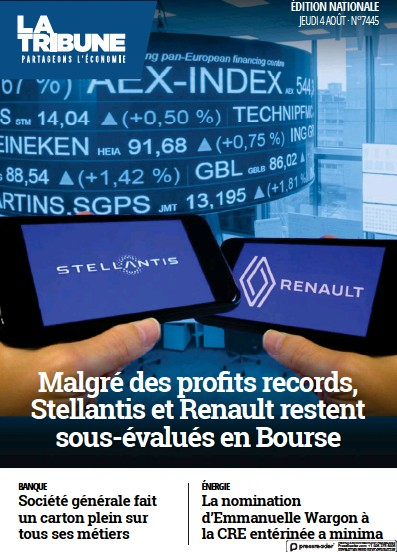 Read full digital edition of La Tribune newspaper from France
