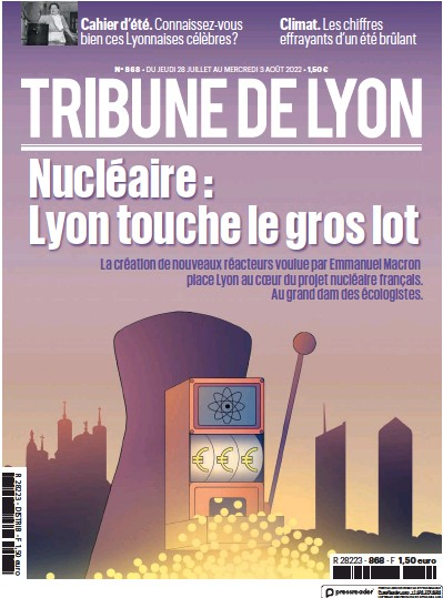 Read full digital edition of La Tribune de Lyon newspaper from France