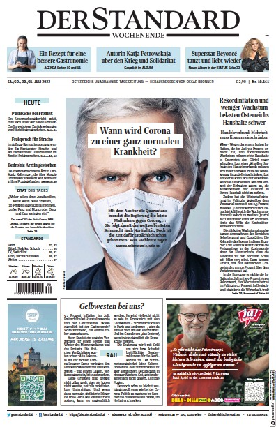 Read full digital edition of Der Standard newspaper from Austria
