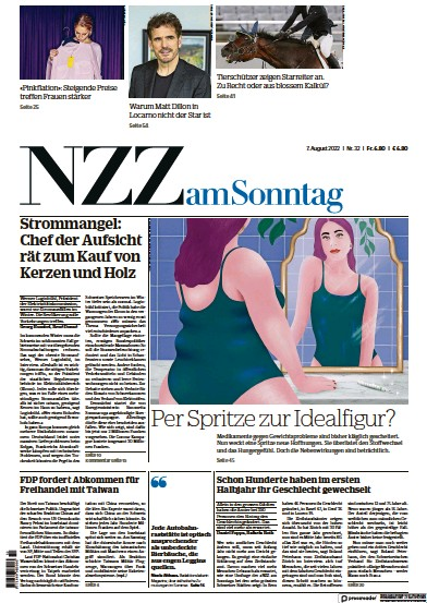 Read full digital edition of Neue Zurcher Zeitung am Sonntag newspaper from Switzerland