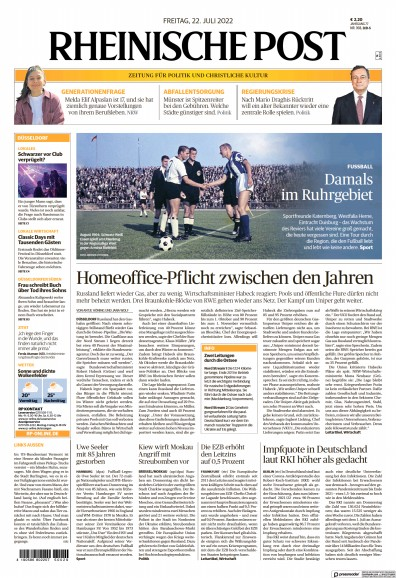 Read full digital edition of Rheinische Post newspaper from Germany
