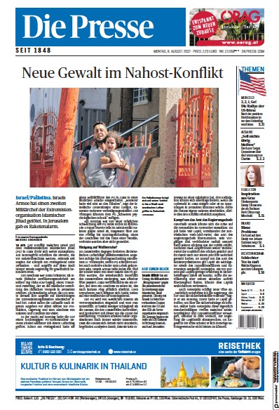 Read full digital edition of Die Presse newspaper from Austria
