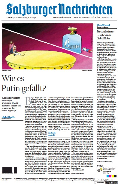 Read full digital edition of Salzburger Nachrichten newspaper from Austria