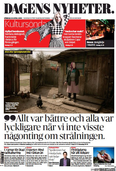 Read full digital edition of Dagens Nyheter Weekend newspaper from Sweden