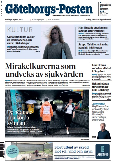 Read full digital edition of Goteborgs-Posten newspaper from Sweden