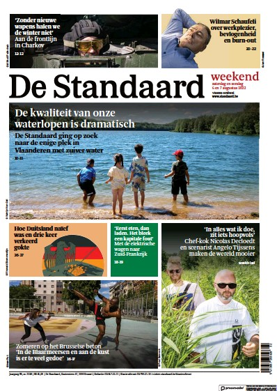 Read full digital edition of De Standaard newspaper from Belgium