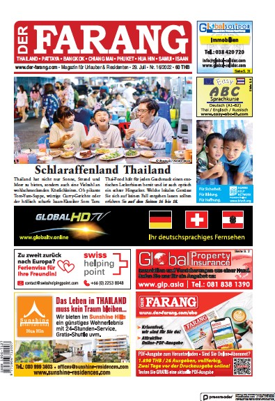 Read full digital edition of Der Farang newspaper from Thailand
