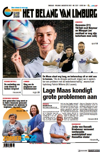 Read full digital edition of Het Belang Van Limburg newspaper from Belgium
