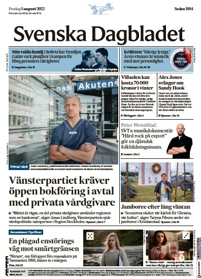 Read full digital edition of Svenska Dagbladet newspaper from Sweden