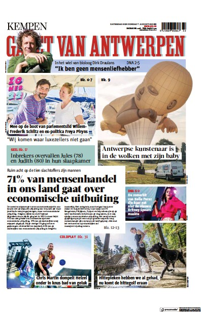Read full digital edition of Gazet Van Antwerpen Kempen newspaper from Belgium