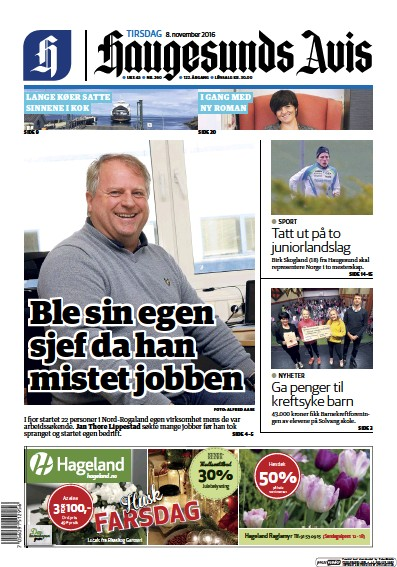 Read full digital edition of Haugesunds Avis newspaper from Norway