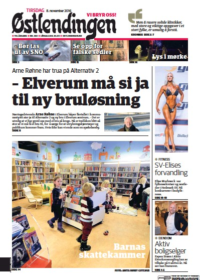 Read full digital edition of Ostlendingen newspaper from Norway