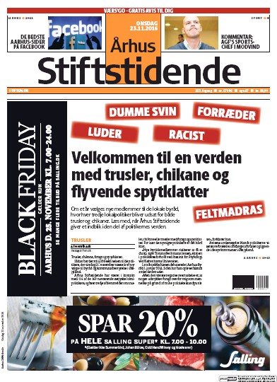 Read full digital edition of Arhus Stiftstidende newspaper from Denmark