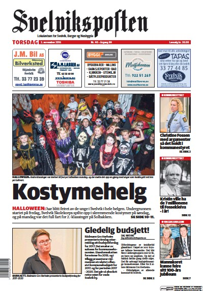 Read full digital edition of Svelviksposten newspaper from Norway