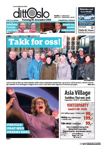 Read full digital edition of Lokalavisen Frogner newspaper from Norway
