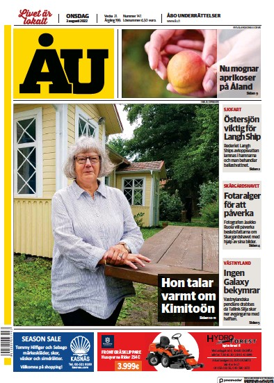 Read full digital edition of Abo Underrattelser newspaper from Finland